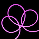 50' LED Commercial Grade Purple Neon Style Flexible Christmas Rope Light