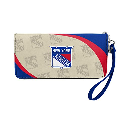 NHL New York Rangers Curve Zip Organizer Wallet