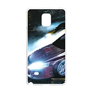 High Quality Specially Designed Skin cover Case Need For Speed Carbon Samsung Galaxy Note 4 Cell Phone Case White