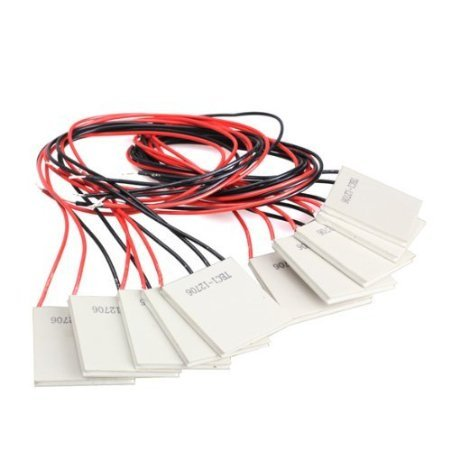 Lollipop Thermoelectric Cooler Heat Sink Cooling Peltier 12V 5.8A TEC1-12706 -10Pcs by Lollipop