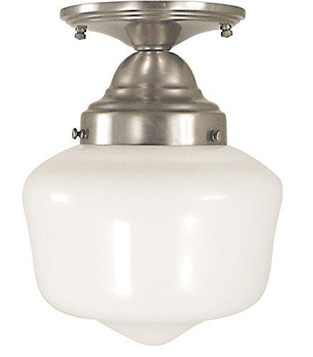 Framburg Lighting (2551) 1-Light Architectural Flush / Semi-Flush (Framburg Semi Flush Mount Fixture)