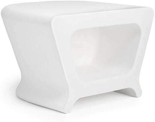 Vondom Pal mesa/taburete de exterior blanco: Amazon.es: Hogar