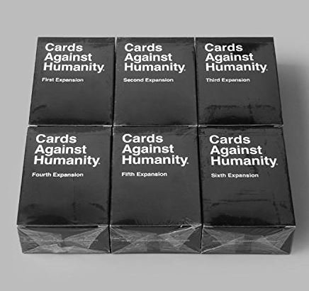 Cards Game Against Humanity: 1st 2nd 3rd 4th 5th 6th Expansions + Bonus Pack - Free Fast Shipping by COW