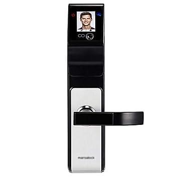 Cerradura Electronica Keyless Reconocimiento Facial Puerta Cerradura Oficina Hogar Hotel: Amazon.es: Hogar
