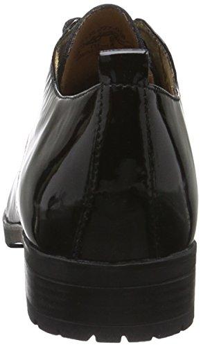 Caprice Ladies 23351 Scarpe Stringate Nere (brevetto Nero 018)