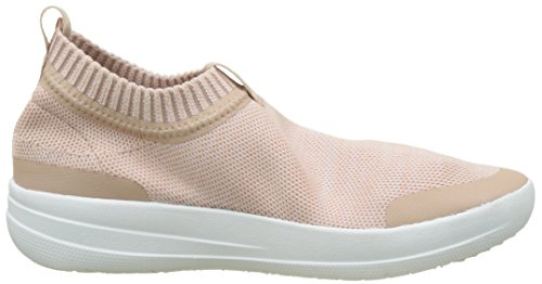 White Donna a Collo Sneakers Blush Uberknit Sneaker Fitflop Urban Slip Multicolour On Alto Neon n8OxX1q