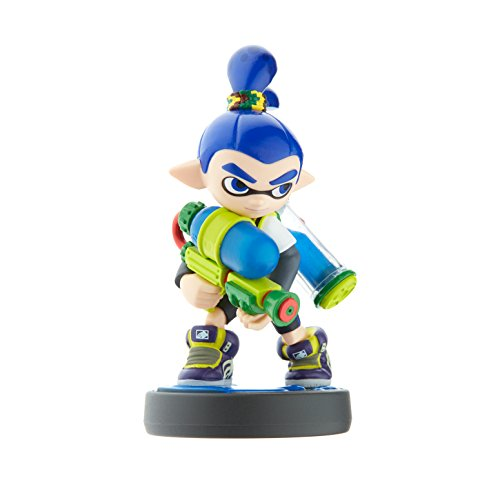 Amazon Inkling Boy Amiibo Splatoon Series Nintendo Wii U Video Games