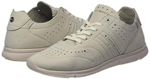 Basses Sneaker Sneakers Hilfiger Tommy Light Weight 639 tapioca Beige Femme Nubuck xOZYqI