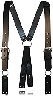 product image for Boston Leather 9175 Leather Firefighter Suspenders