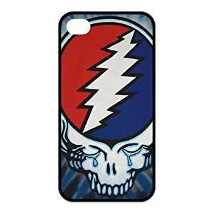 Customize Music Band Grateful Dead Case for iphone 4,4S JN4S-1562 by ruishername