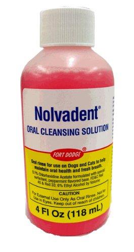 - Nolvadent Oral Cleansing Solution (4 oz)