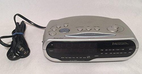 Emerson Smartset Dual Alarm Clock Radio CK 1850