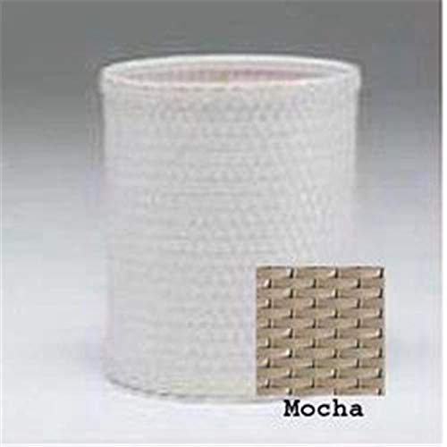 OKSLO Chelsea collection round wastebasket in mocha