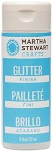 Martha Stewart Crafts Glitter Finish (6-Ounce), 32311