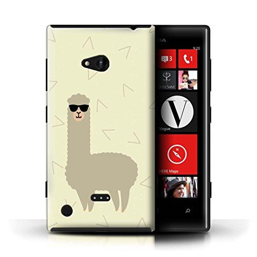 STUFF4 Phone Case / Cover for Nokia Lumia 720 / Cool Shades Sunglasses Design / Cartoon Alpaca - 720 Sunglasses