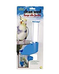 JW Pet Company Insight Silo Feeder Bird Accessory, Large, Assorted Colors