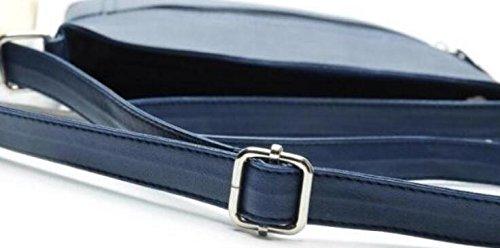 1 X Bolso De Hombro de Las Señoras de - Bolso De Cuero Caliente Del Embrague Del Cuero de La Venta / del Funcionamiento de La PU Crossbody �?Borgoña Azul