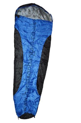 New Festival Camping Outdoor Mummy Shape Sleeping Bag BLUE ...