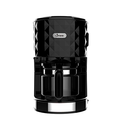 From USA Limee CM0113 1.25 Litre 1000 Watts Filter Coffee Maker 8-10 Cup Capacity White ...