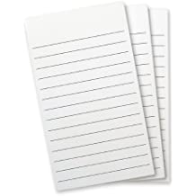Wellspring Flip Note Lined Refill Pad, 3 per pack (2298)