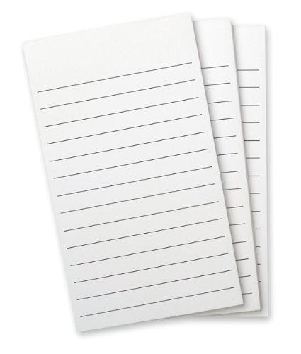 Wellspring Flip Note Lined Refill Pad, Lined Paper, 3 per pack (2298)