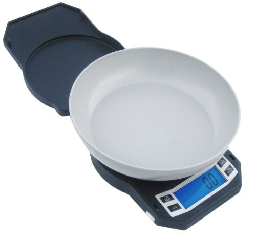 American Weigh Scales LB-3000 Compact Digital Scale with Removable Bowl, 3000 by 0.1 G (Point Scale)