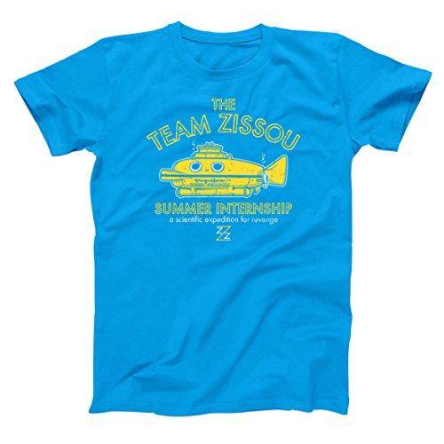 Team Zissou Submarine Intern Mens Shirt XXX-Large Aqua