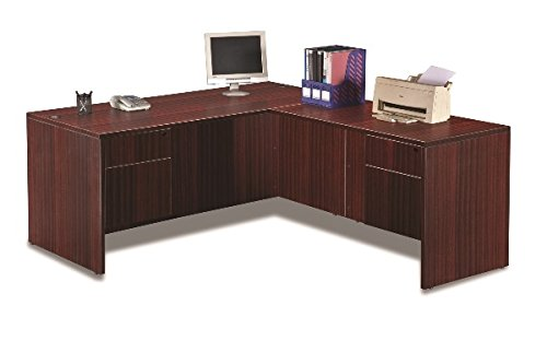 Marquis L-Shaped Desk W/Hanging Pedestals Overall Dimensions: 72