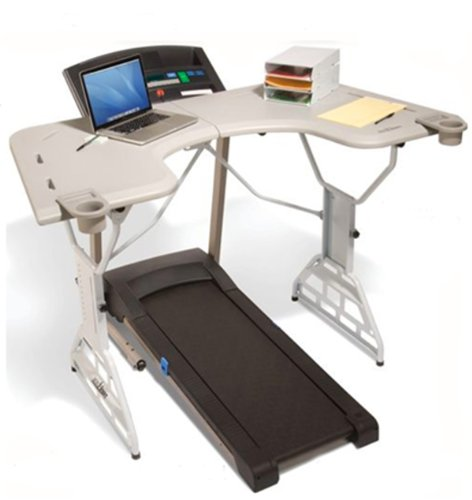 TrekDesk Treadmill Desk - Walking and Standing Desk for Treadmill - Perfect Treadmill Workstation
