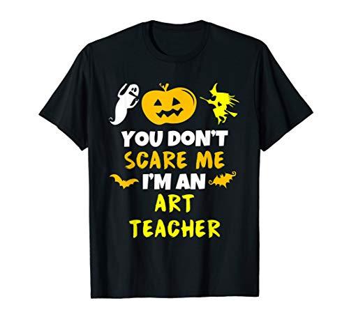 Art Teacher Halloween Costume Ideas (You Don't Scare Me Art Teacher Halloween)