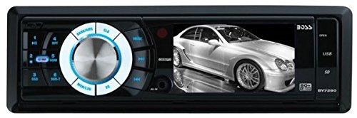 Mech Test - BOSS AUDIO BV7280 Single-DIN 3.2 inch Screen MECH-LESS  Receiver, Detachable Front Panel, Wireless Remote
