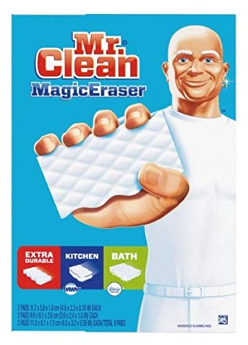 Mr. Clean Magic Eraser Sponge Variety Pack (3 Types - 9 Count)