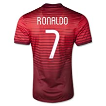 Portugal Ronaldo Kids #7 Soccer Kit Jersey and Free Shorts All Youth Sizes