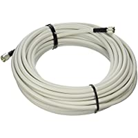 MPD Digital LMR400-W-PL259-75ft Radio Antenna Cable VHF & AIS Coaxial with Silver Teflon UHF PL-259 , 75