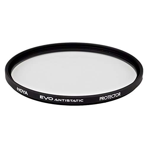 Hoya Evo Antistatic Protector Filter - 77mm - Dust / Stain / Water Repellent, Low-Profile Filter (Evo Protector)