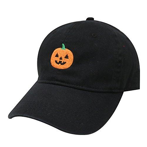 City Hunter C104 Halloween Pumpkin Cotton Baseball Dad Caps 16Colors -
