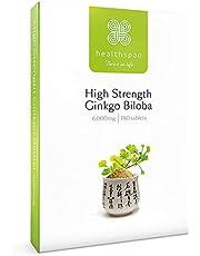 Healthspan Ginkgo Biloba   High Strength   180 Tablets   Iodine   Vitamin B5   Flavone Glycosides   Vegan
