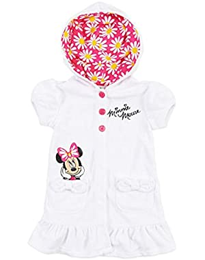 Minnie Mouse Baby Girls' Embroidered Swimsuit Cover Up