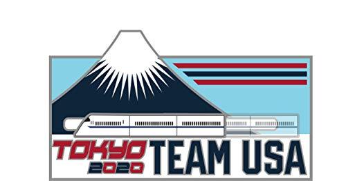 2020 Summer Olympics Tokyo Japan Team USA Bullet Train Lapel Pin (Train ()
