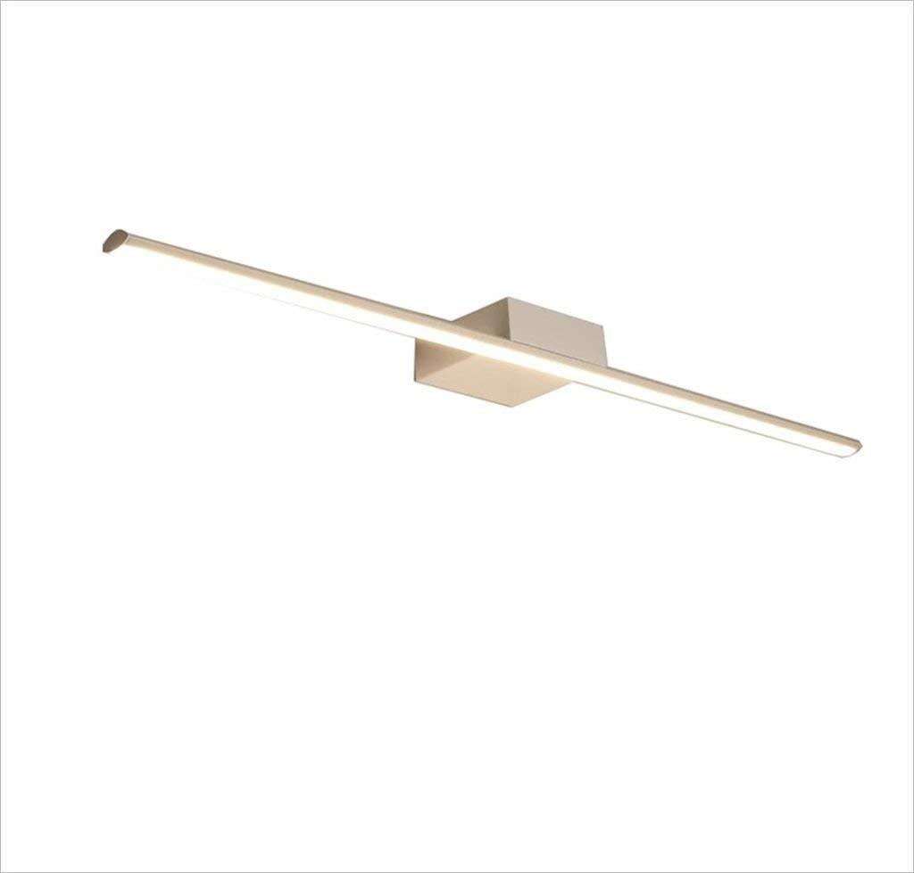 Einfache, moderne LED-Linse Beleuchtung, Badezimmer Badezimmer Spiegelschrank Lights wasserdicht Beschlagfrei wc Leuchten (Flat-bildröhre Modelle, 8W 40 CM) (Farbe  Weiß -40 cm 8 W)