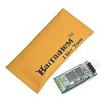 Baitaihem 4Pin Serial Arduino Wireless Bluetooth Receiver Module HC-06 RS232 TTL UART Slave + Cable
