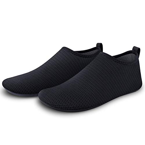 SEEKWAY Womens and Mens Water Shoes Barefoot Quick-Dry Aqua Socks Slip-on for Outdoor Beach Swim Yoga