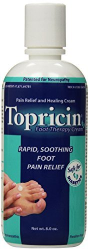 Topricin Foot Therapy Cream 8 OZ - Buy Packs and SAVE (Pack of 4)