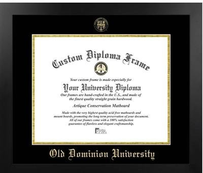 Old Dominion University Most Popular Diploma Frame by Premier Frames