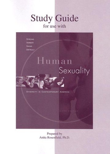 Student Study Guide t/acc Strong, Hum Sex 6e: Diversity in Contemporary America