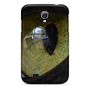 Bernardrmop Design High Quality Cats Eye Cover Case With Excellent Style For Galaxy S4