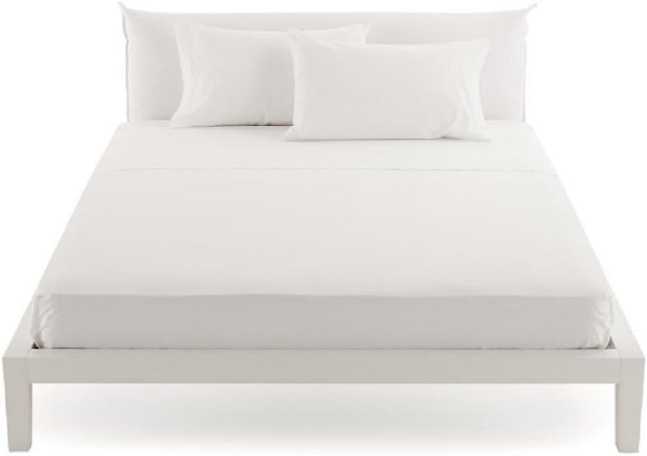 lenzuola sotto letto MATRIMONIALE con angoli elasticizzati 175X200 cm 100 /% cotone BLU COBALTO