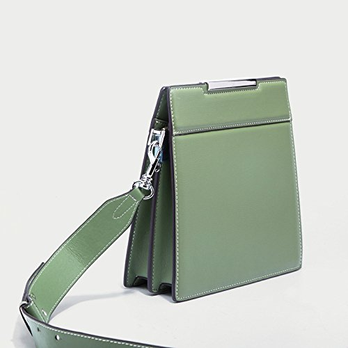 Fashion Square Casual Travel Bag Women's Shoulder Body Bags Green Small Cross Bags Messenger Xnq4F