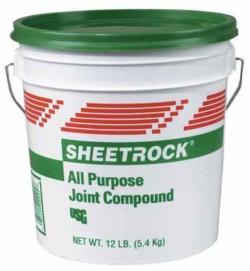 Lightweight Compound Joint - U S GYPSUM 385140 385140004 All Purpose Joint Compound 1 Gal