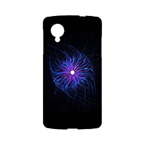 Google Nexus 5 3D Protective Phone Case Simple Clever Snap on Google Nexus 5 Luminescent Jellyfish Cellphone Shell